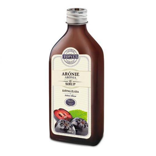 ARÓNIA - FEKETE BERKENYE  SZIRUP 320 g